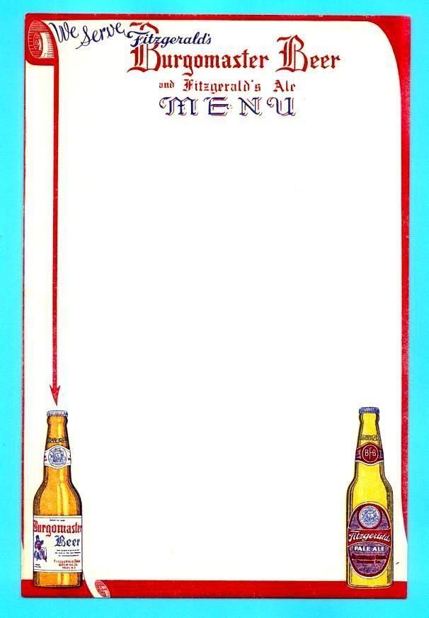 41 best Beer Menu sheets + covers images on Pinterest - beer menu