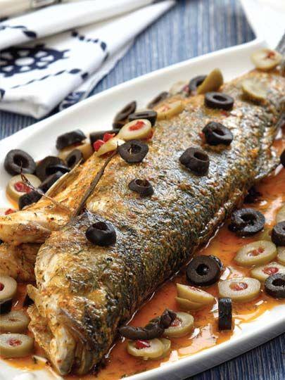 Zeytin soslu levrek buğulama Tarifi - Türk Mutfağı Yemekleri - Yemek Tarifleri