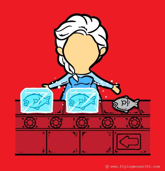 E se os super heróis tivessem um segundo emprego? - A série de divertidas e criativas ilustrações do designer e ilustrador Chow Hon Lam mostra  como seria a vida de alguns super heróis se eles tivessem que recorrer a outros trabalhos para ajudar nas despesas. Confira!