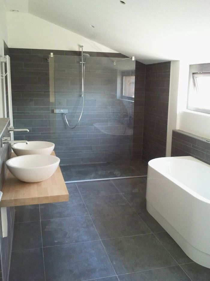 charcoal grey tiles bathroom best 25 slate bathroom ideas on classic style 17664