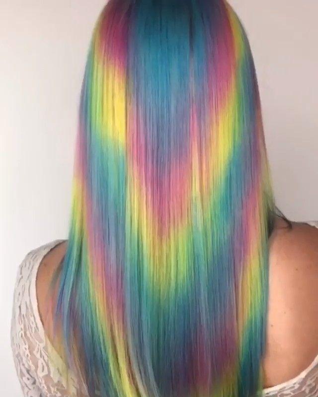 Regenbogen Haarfarbe Ideen Haarfarben Haarfarbe Ideen Regenbogenhaare