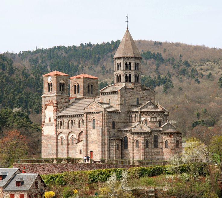 Medieval Church: Saint-Nectaire, France