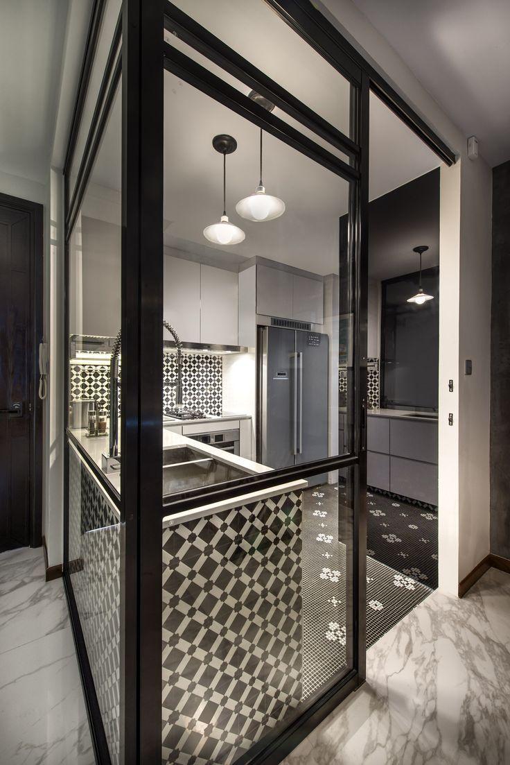 peranakan meets modern interior, kitchen