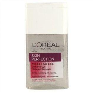 Loreal Paris Skin Perfection Micellar Kusursuz Göz Makyajı Temizleme Jeli 125 ml  #bakım #alışveriş #indirim #trendylodi    #makyaj #bayan  #makyajtemizleyici