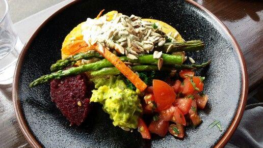brunch at admiral cheng ho #vegan #rawcashewcream # amazingfood