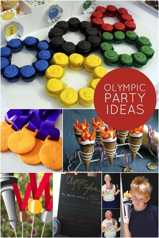 Olympic Party Ideas www.spaceshipsandlaserbeams.com