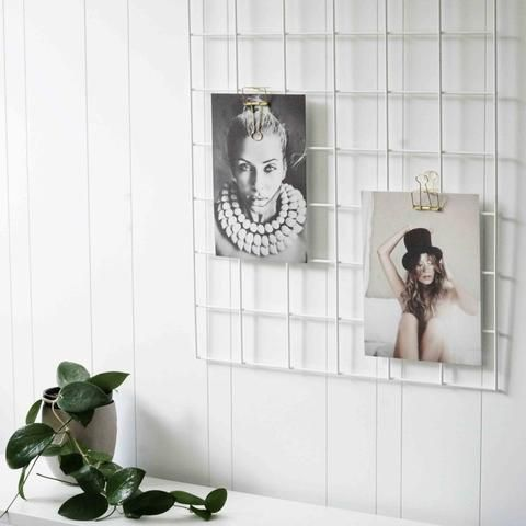 H&G Designs Grid Mood Board White | Simple Style Co