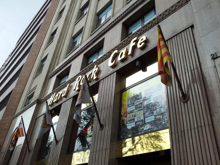 #barcelona #hard #rock #cafe