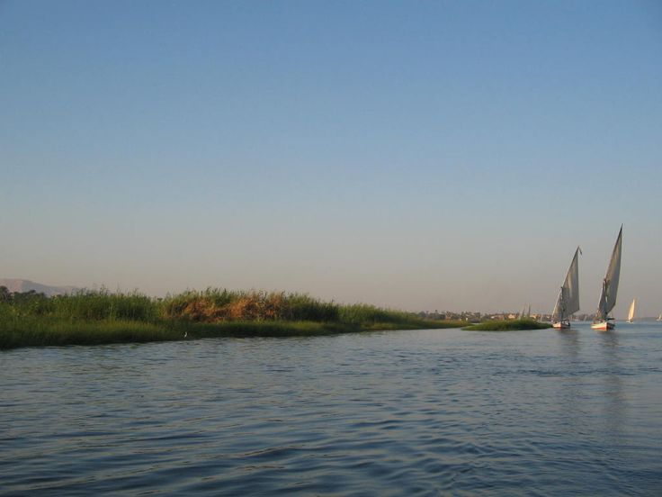 Afternoon on the Nile River, Luxor. Photo: David Yustin