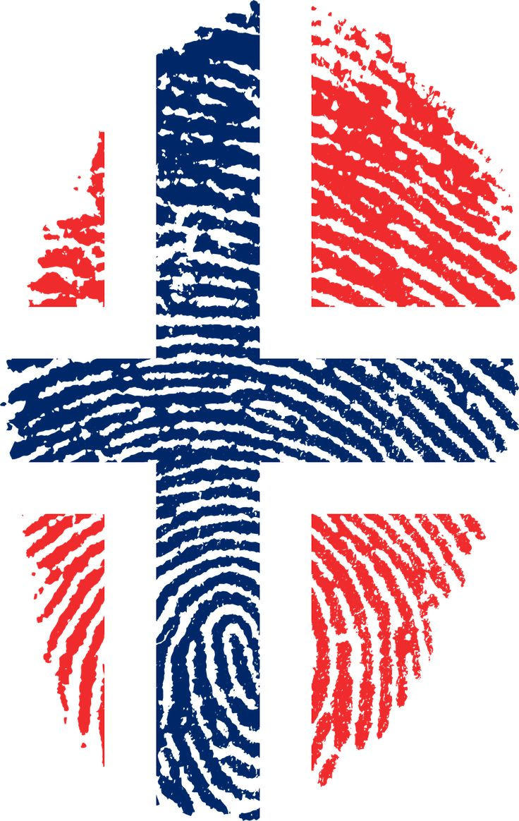 norway flag fingerprint country transparent image flag