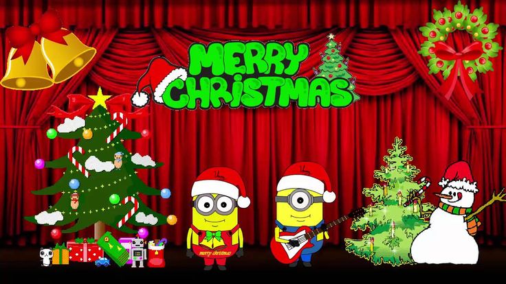 Minions song  : We wish you a merry christmas ( By Minions Animations )