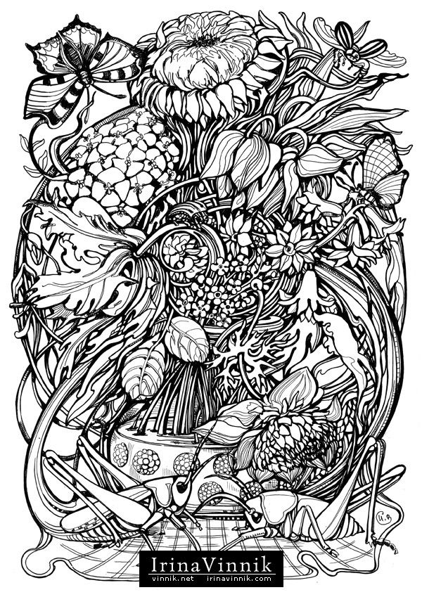 1097 Best Images About COLORING PAGES On Pinterest