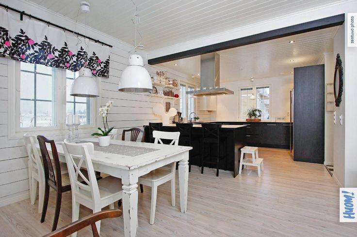 Skandinaavinen keittiö ruokailutila, Etuovi com Asunnot, 560a72bce4b028899618