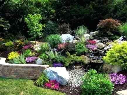 Image result for garden rockery ideas | wingate | Pinterest | Gardens
