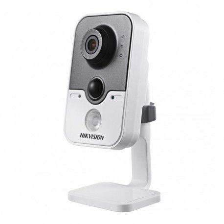 """Кубическая Wi-Fi IP камера для системы внутреннего наблюдения. Матрица: 1/3"""" PS CMOS. Разрешение: 1280x720 пикс. (720p/1 Мп). Скорость потока: 25 к/с. Фокусное расстояние: 2,8 мм (угол обзора - 92°). Дальность ИК подсветки: до 10 метров. Поддержка PoE (IEEE 802.3af). Тревожный вх./вых.: 1/1 шт. Место для microSD: до 64 Гб. Встроенный микрофон и динамик. Протокол: ONVIF, PSIA, CGI, ISAPI."""
