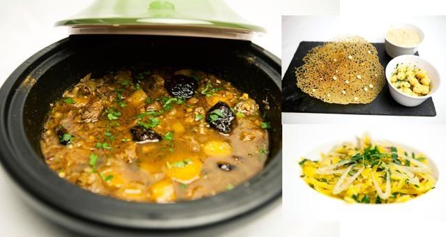 Tajine van lam met wortelsalade en 1000 gaten crunch - Recept | VTM Koken