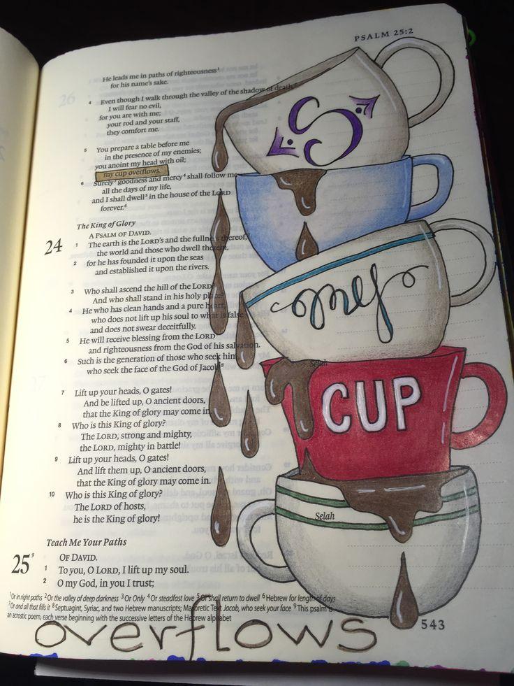 Psalm 23:5.