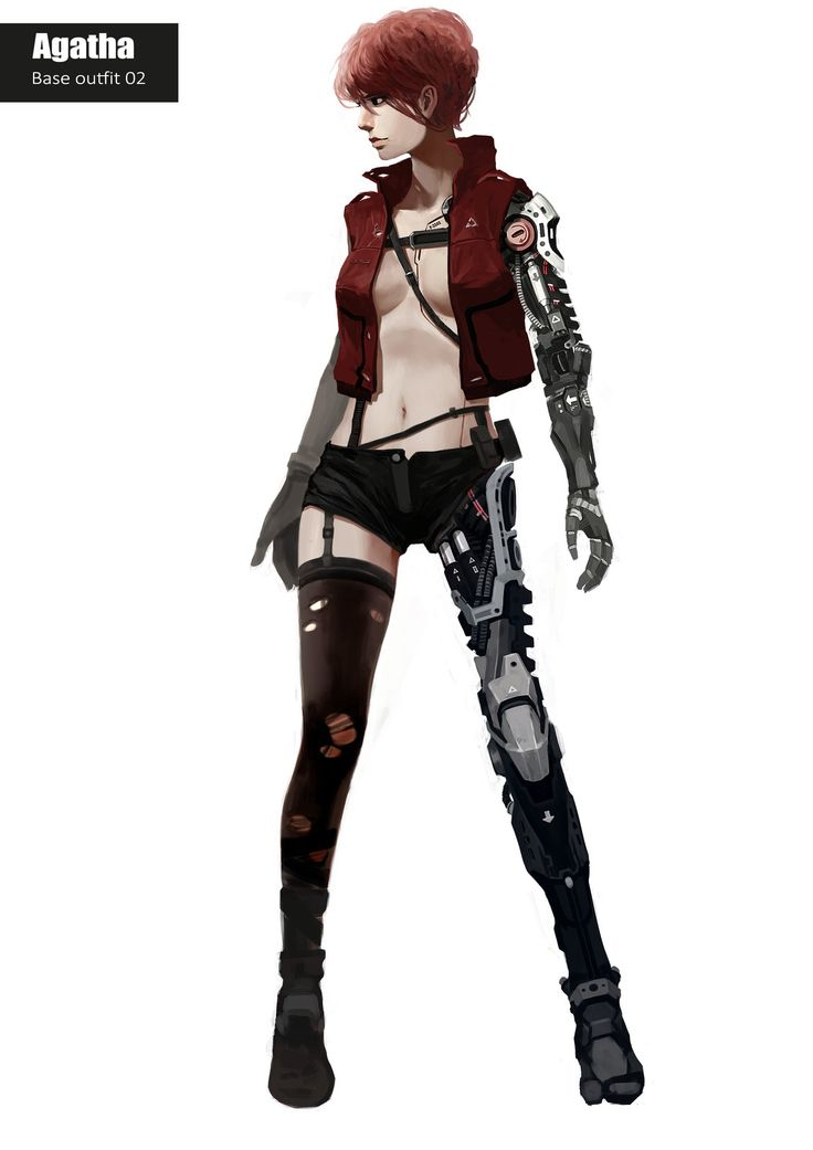 Female character concept art