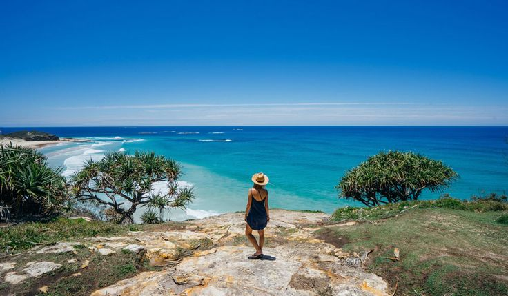 Frenchmans Lookout on North Stradbroke Island.