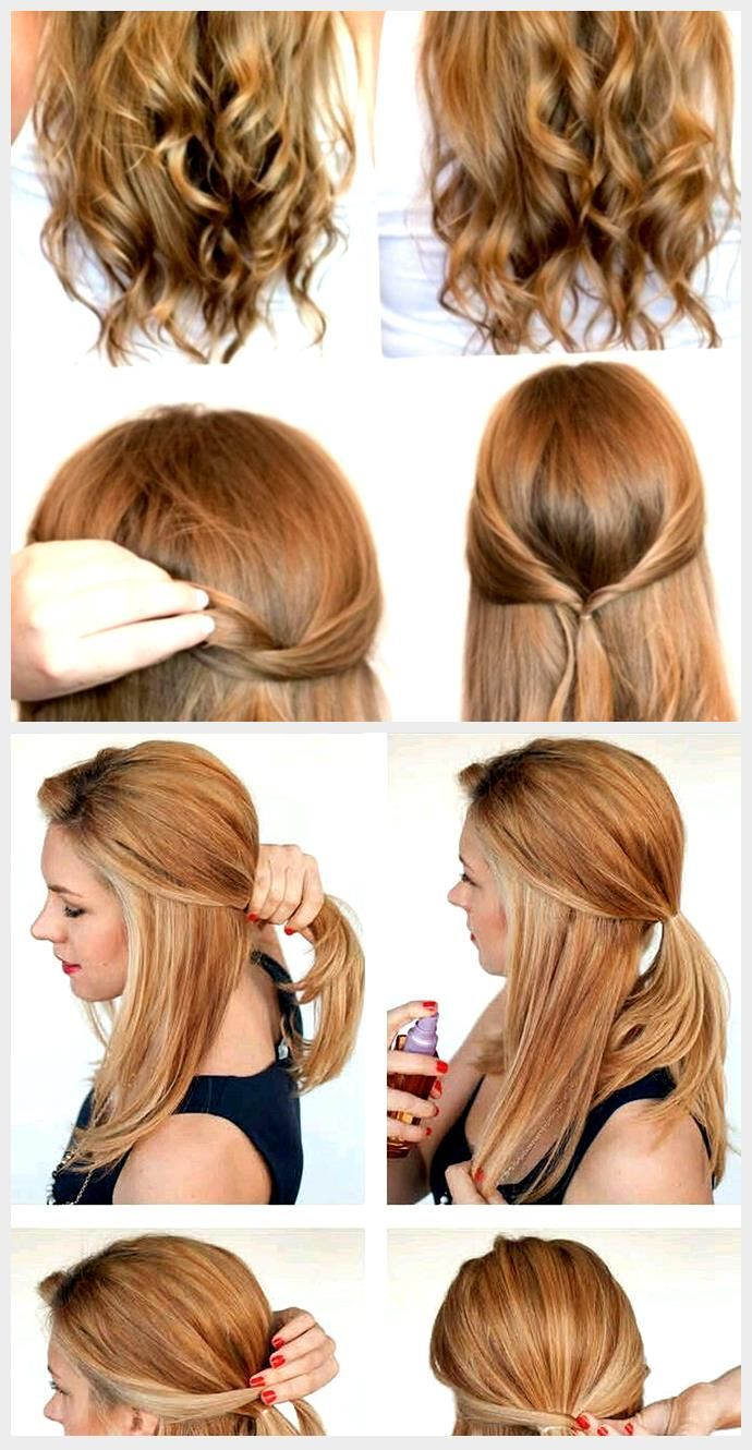 Hairstyle Casual Simple In 2020 Hair Styles Hairstyles For School Casual Hairstyles