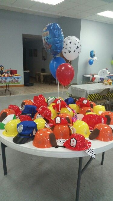 Paw Patrol Party Hats