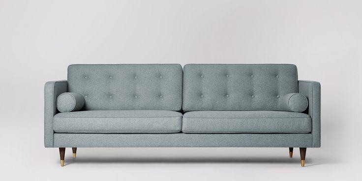 Porto Three-seater Sofa | Swoon Editions
