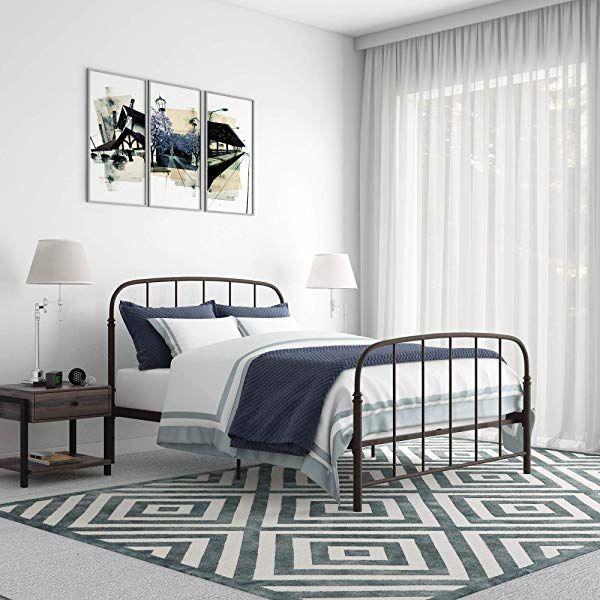 Amazonsmile Dhp Winston Metal Bed Frame Multifunctional Piece