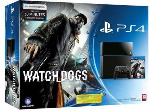 BARGAIN PS4 with Watchdogs and Last of Us (Day 1 Remastered Edition) £385 at Tesco Direct - Gratisfaction UK