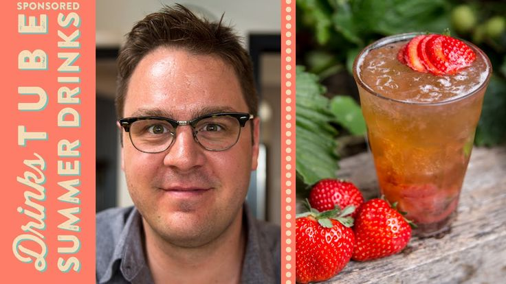 Strawberry & Beer Mojito Cocktail   Tim Anderson
