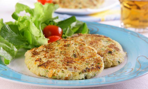 Hambúrguer de Frango e Quinoa - Online Fit