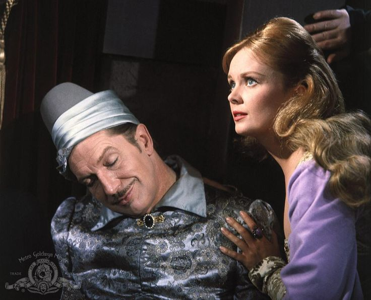 The Raven (1963) Vincent Price (Dr. Erasmus Craven) and Olive Sturgess (Estelle Craven).