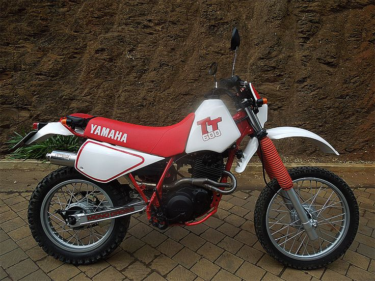 Yamaha TT600, Adventure Motorcycle painted by PAZ.