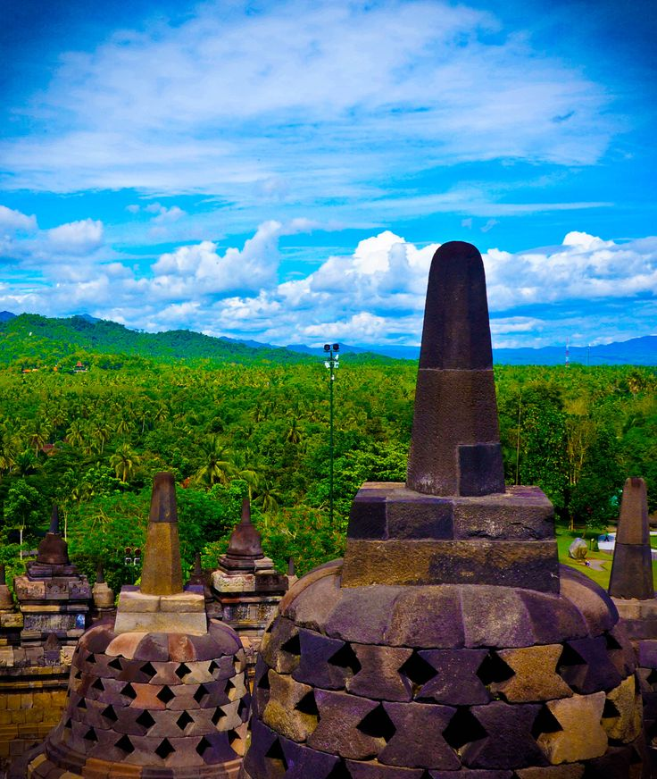Borobudur Temple, Indonesia