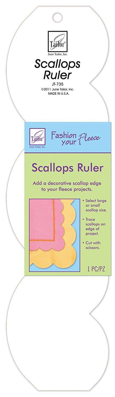 June Tailor Scallops Ruler