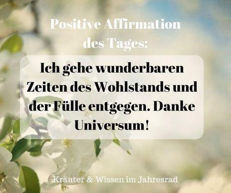 Positive Affirmationen und Motivationssprüche fü…