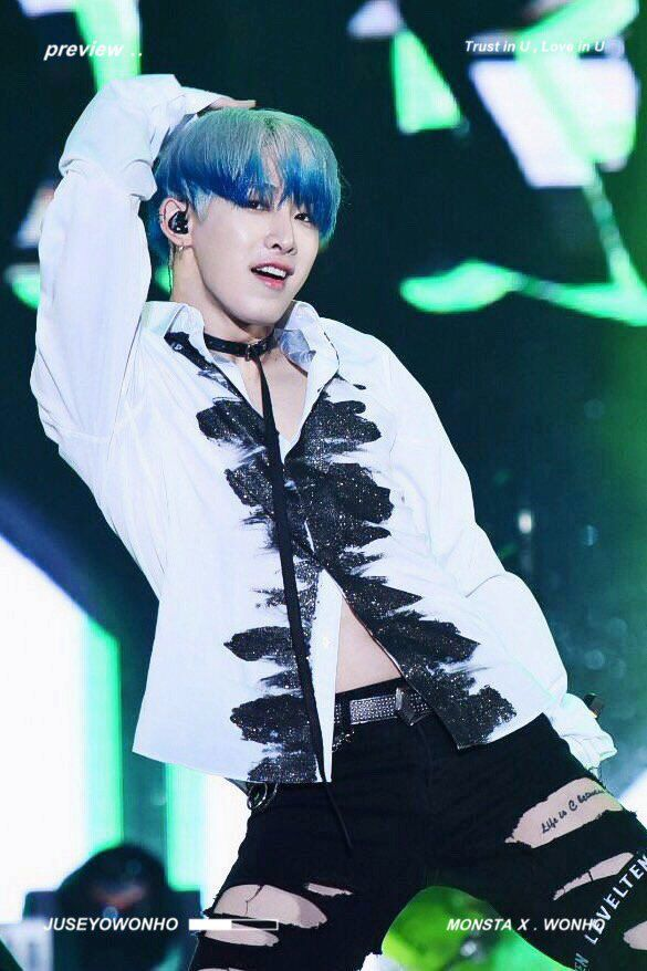 [Preview] 160930  #몬스타엑스 #MONSTA_X #Wonho - Kpop World Festival in Changwon [CR: juseyowonho]