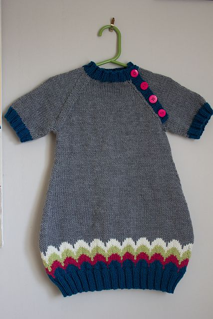 Ravelry: Project Gallery for Baby Bubble Tunic pattern by Julia Madill