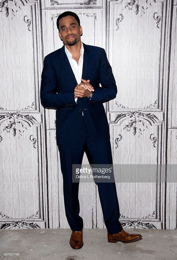 Actor Michael Ealy attends the AOL BUILD Speaker Series: 'The Perfect Guy' at AOL Studios In New York on September 10, 2015 in New York City.