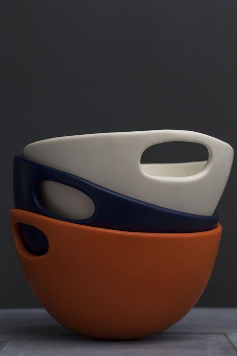 Dinosaur Designs Modern Tribal 2013 - Large Lotus bowls