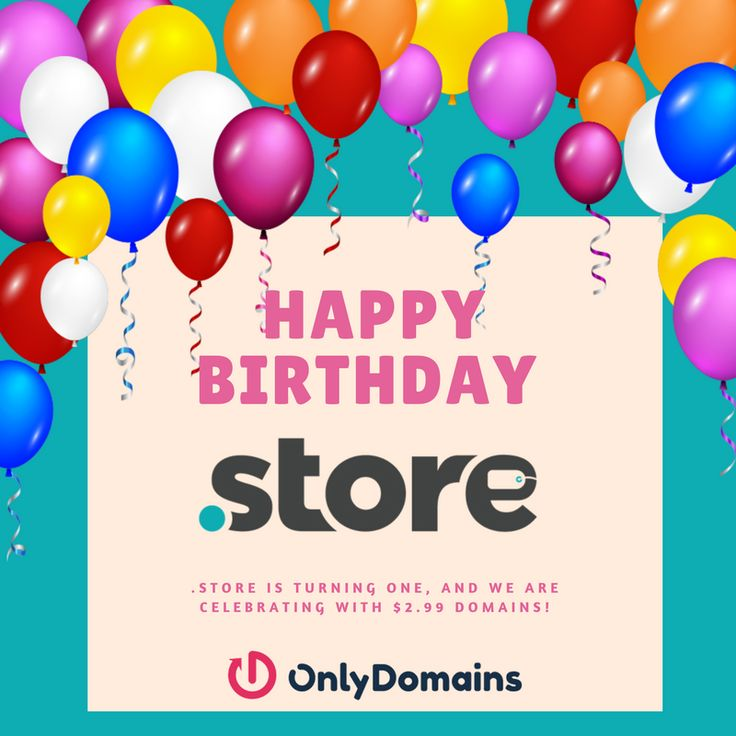 Everyone is buying online!    The shift in digital buying has made online selling essential.   Whether you are an established big-name brand, a small corner store or about to launch that new business idea; you need to have an online selling space.   Choose .STORE – A perfect website extension for your online store.    95% Off Anniversary Sale!  Register Dot Store - $2.99 USD  Register your Dot.STORE Web-Address today.