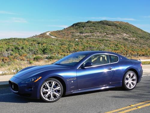 The stunning Maserati GranTurismo S.