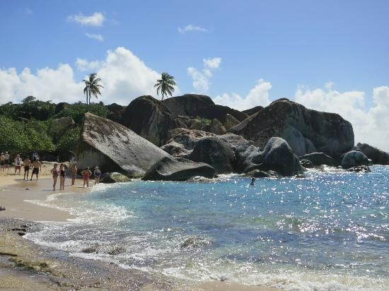 A view from the far end of the Baths, Virgin Gorda, VI