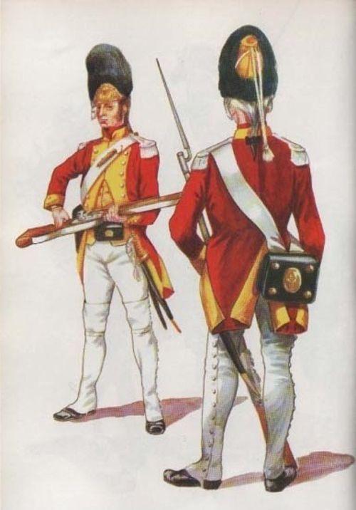 Leibgrenadiergarde um 1806