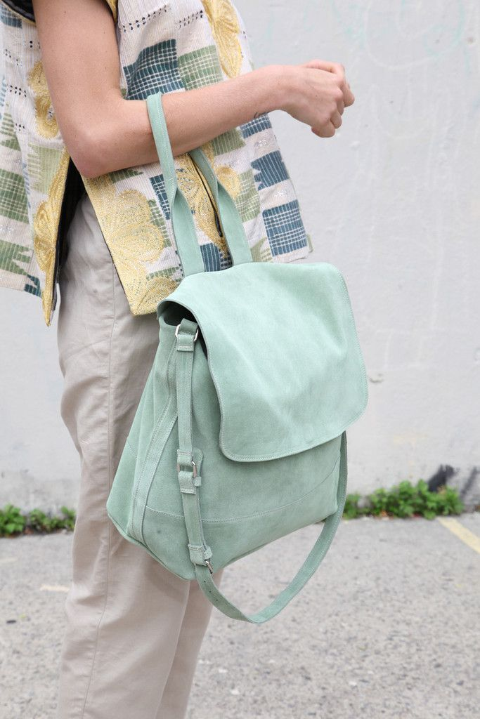 Clyde Tote Bag in Mint | Beautiful Dreamers