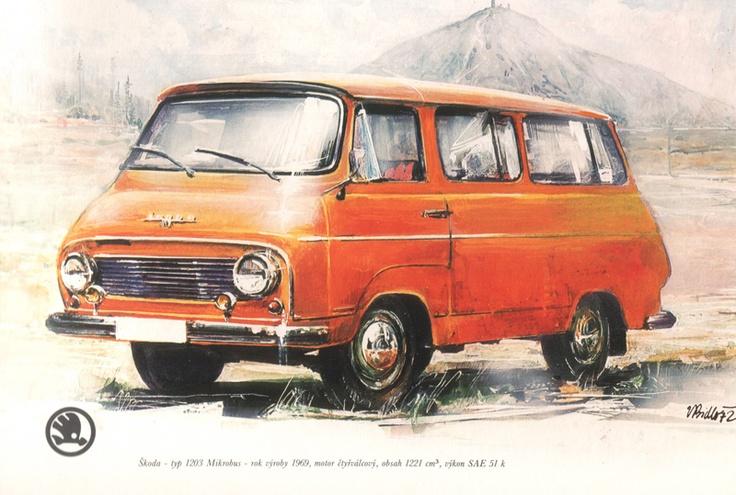 17 best images about vans skoda 1203 on pinterest photos book and van. Black Bedroom Furniture Sets. Home Design Ideas