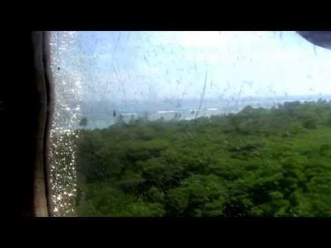 Twin Otter Takeoff - Solomon Airlines - Fera, Solomon Islands