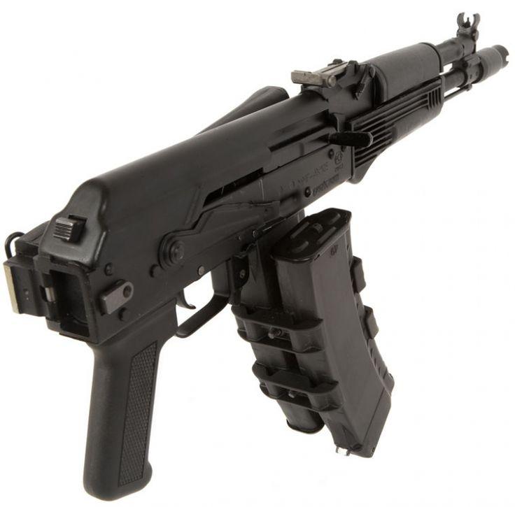 AK-105 Assault Rifle. A short barrel 5,45mm AK-74M, intended to replace the AKS-74U.