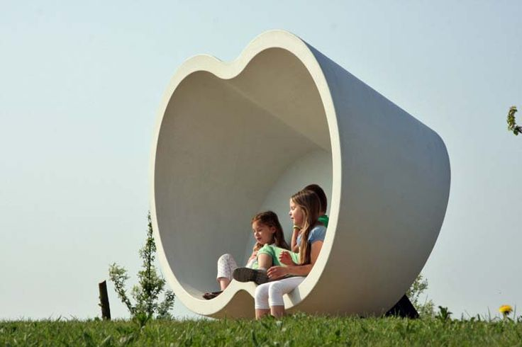 These elegant and unique pieces will encourage the kinds of social interaction #streetfurniture