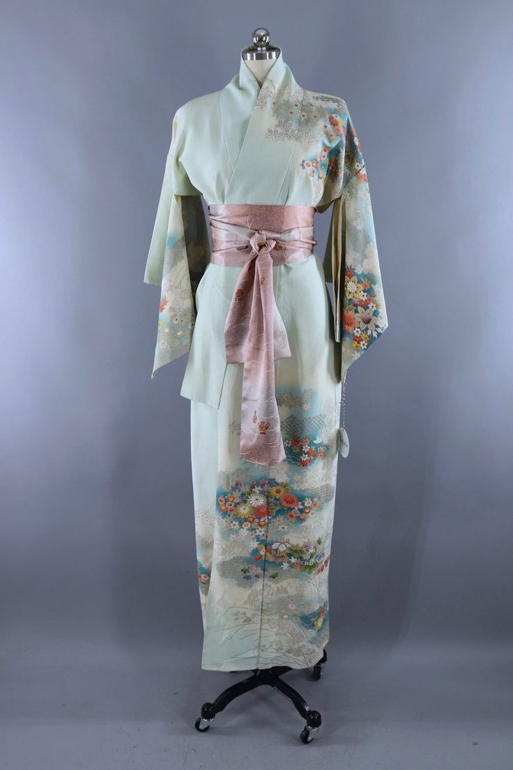To purchase vintage girls kimono