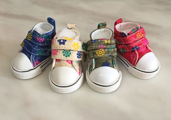 [New] BJD куклы обуви модели обуви USD 6 Распределение холст обувь (4 цвета) Распределительные обувь 1/6